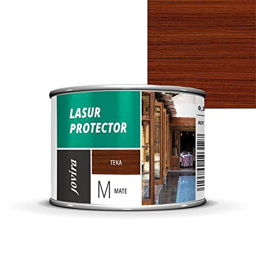 LASUR PROTECTOR MATE Protege, decora y embellece todo tipo de madera (375 ml, TEKA)