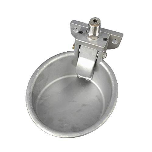 LYY Équipement d'élevage, Abreuvoir Automatique pour porcs, Interrupteur Tactile en Aluminium pour économiser de l'eau, Tube de 1/2\