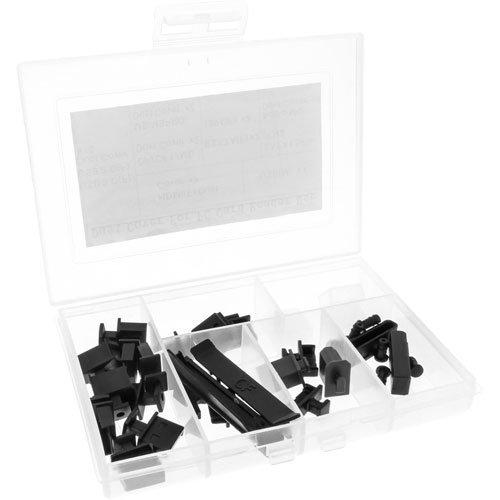 InLine 59941D Staubschutz-Set, für Frontpanel und Cardreader, 30-teilig