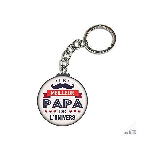 ANGORA Porte clé Le Meilleur Papa de l'univers