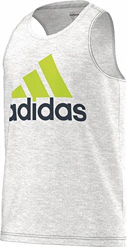 Adidas T-Shirt pour Homme avec Logo Montagne XL Multicolore - Gris/Bleu