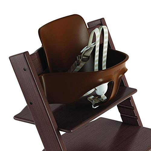 Price comparison product image Stokke Ergonomic 2019 Tripp Trapp Baby Set with Harness,  Walnut Brown
