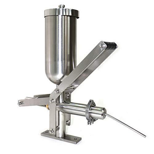 Manual Churro Filler 5L Spanish Churro Maker Machine Fill Machine Stainless Steel Donuts Filler, Latin Fruit Machine for Commerial or Home