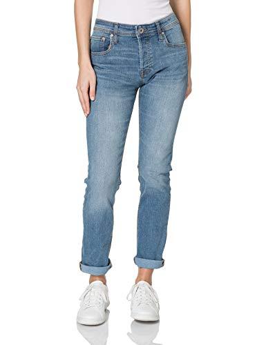 JACK & JONES Jjiglenn Jjoriginal Am 815 Noos Jeans Slim, Blu (Denim Blu), 33W / 30L Uomo