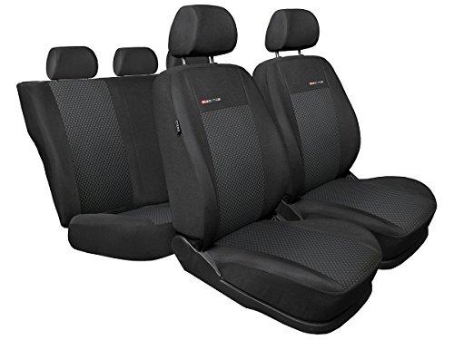 UP ! Sitzbezüge nach Maß Autoplanen perfekte Passform Schonbezüge Sitzschoner Velour + Strickpolster ®Auto-schmuck (UP! 1/2 p3)