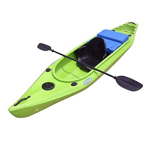 Devessport – Kayak Cannonball | Kayak per 2 + 1 Persona tipo sito on Top – Autognificabile | Fondo piatto | Peso massimo 280 kg