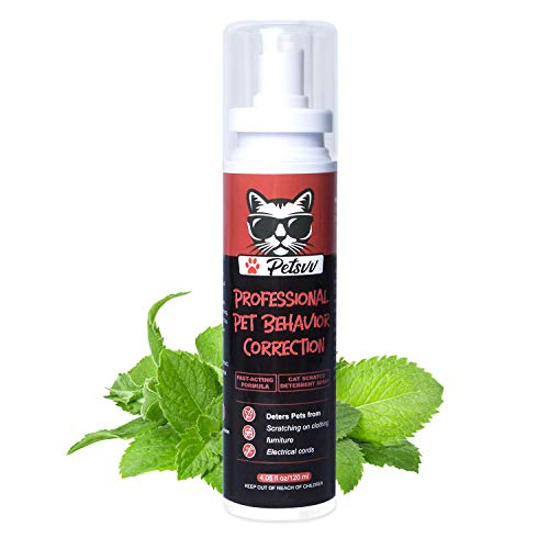 Cat Spray for Scratching - Cat Scratch Deterrent for Kittens and Cats, Cat Repellent Indoor, Protect Furniture & Household Items