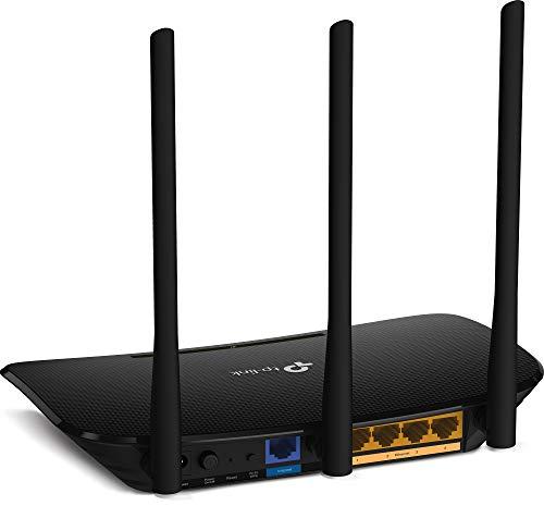 Zyxel AC1200 Dual-Band Wireless Kabel-Gigabit-Gateway-Router & TP-Link TL-WR940N N450 WLAN Router (für Anschluss an Kabel-/ DSL-/ Glasfaser-Modem, 450 Mbit/s (2,4 GHz)) schwarz