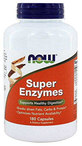 Now Foods Super-Enzyme 180 Kapseln Bild
