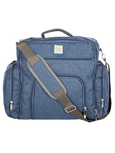 Mee Mee Multipurpose Diaper Bag (Denim Blue)