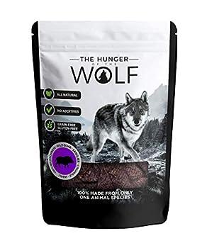 The Hunger of The Wolf Encas pour chiens à la viande de sanglier, Goût gibier, 0,2kg