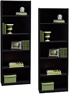 Best ameriwood 5-shelf bookcase set of 2 white Reviews