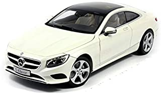 1/18 Mercedes Benz S Class Coupe DIECAST MODEL CAR (WHITE)