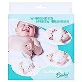 Dr. Junghans Medical 26600 Spreizhöschen Gewebe für Neugeborene, weiß