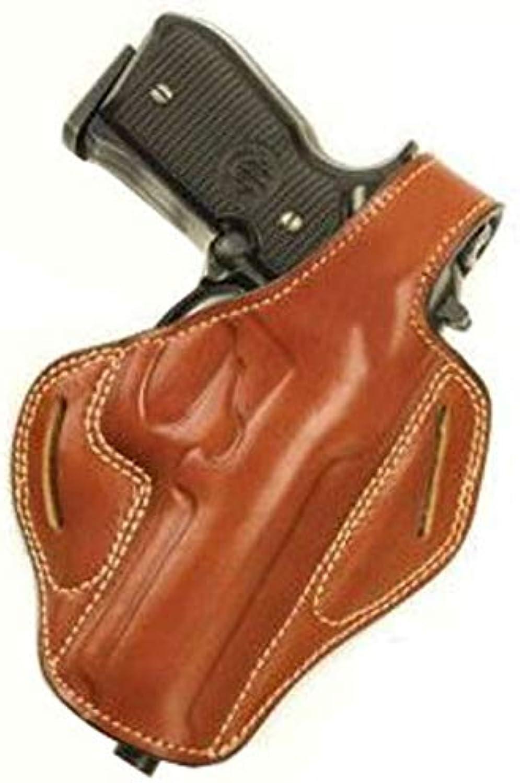 Cebeci 20900LT20 LeftHand Leather Pancake 20900 Holster Gun Belt, Tan