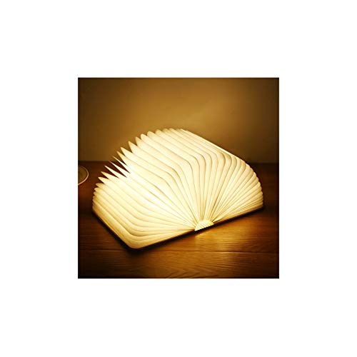 Lámpara De Libro Plegable - Luz USB Recargable En Forma De Libro, Lámpara De Libro Portátil Luces De Lectura, Niños Iluminación De Decoración del Hogar