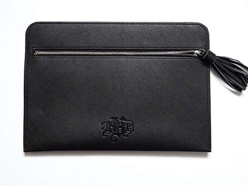 kat von d products Kat Von D Black Vegan Leather Makeup Bag