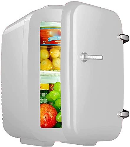 Mini Nevera, 4 Litros / 6 Puede Enfriador Portátil Y Refrigerador Personal Más Cálido Para El Cuidado De La Piel Cosmetics Food, Freezer Pequeño Grande Para El Dormitorio De La Oficina Del Dormitorio