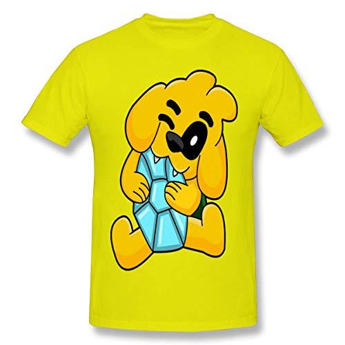 maichengxuan Mikec-Rack - Camiseta de manga corta para hombre, diseño gráfico en 3D, cuello redondo, color negro