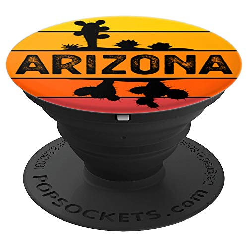 Arizona State The Grand Canyon State Vintage PopSockets Grip and Stand for Phones and Tablets