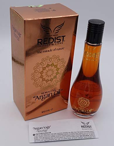 Redist Moroccan Argan Oil 100ml Arganöl Haarpflege Öl Leave-in Pflege Treatment Hair Care Haar und Körper Pflege Öl
