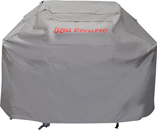 BBQ Coverpro - Waterproof Heavy Duty BBQ Grill Cover (70x24x46) (XL) Gray for Weber, Holland, Jenn Air, Brinkmann and Char Broil & More.