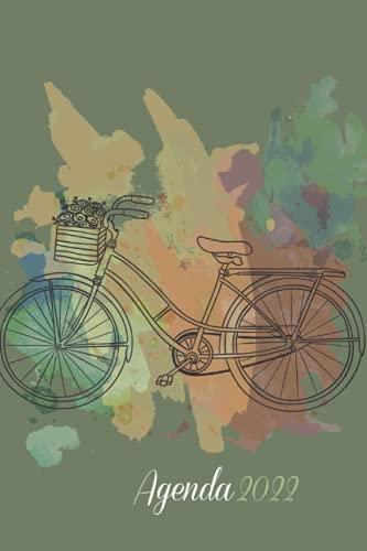 Agenda 2022: Grande Planificador anual 2022 12 meses . Bicicleta . Día por página . Planificadora semanal diaria y mensual . Planificador Escolar Diario ...