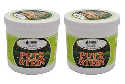 2 x 1000g Bio Wunder Putzstein vom Pullach Hof, Scheuermittel, Universalreiniger