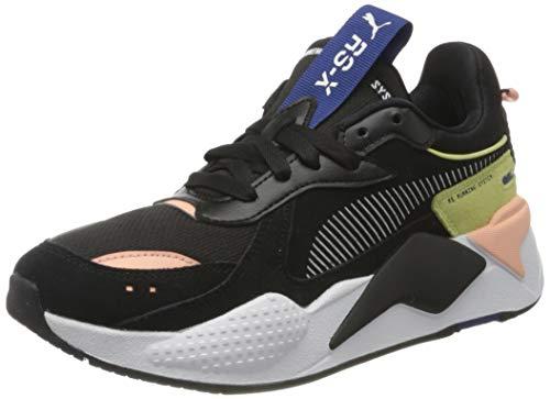 PUMA RS-X Reinvent WN S, Zapatillas Mujer, Black Apricot Blush Amarillo Pera, 42 EU