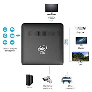 Wintel W8 Pro Mini PC Latest Intel CherryTrail Quad Core up to 1 84
