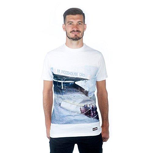 copa Preston North End Terraces T-Shirt Homme, Blanc, Moyen