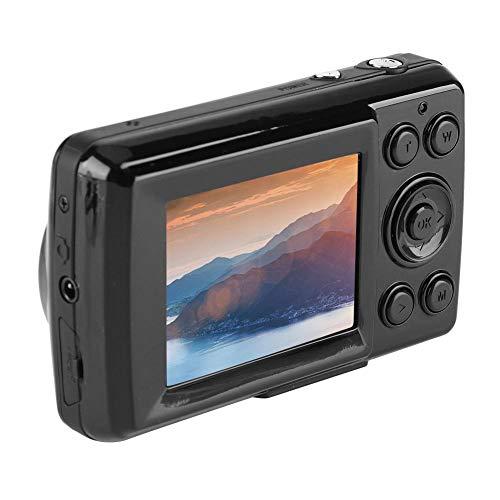 Mini digitale camera, 16MP 4X zoom HD digitale camcorder, 720P 30FPS hoge resolutie videocamera voor volwassenen / senioren / kinderen (zwart)