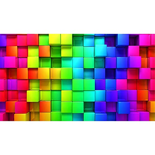 5D Large Diamond Painting Full Drill Kit, Square drill Colored Grid 80x220cm 5D DIY Painting by Number Kits, Crystal Diamond Art Cross Stitch Set, Rhinestone Embroidery Craft Kit for Home Wall Decor