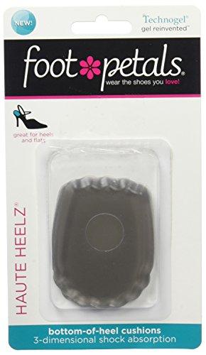 Foot Petals Women's Haute Heelz Heel Cushion,...