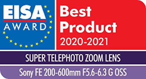 Sony FE 200-600 mm f/5.6-6.3 G OSS   Vollformat, Super-Telezoom-Objektiv (SEL200600G)