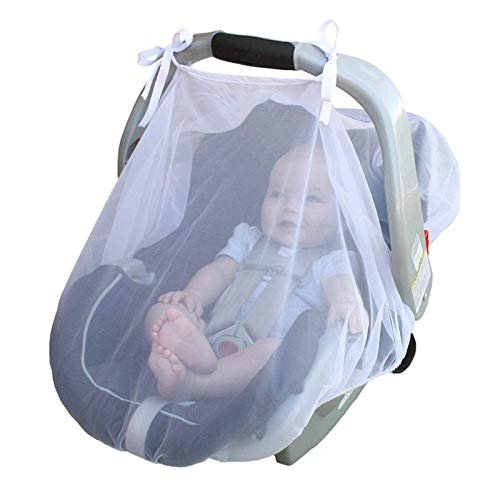 YLLN mosquitera Transpirable protección contra Insectos Dosel Ajuste Universal para Asiento de Coche Cochecito de bebé