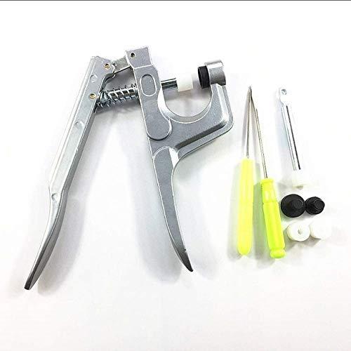 SuoSuo NXCY01 1set Metal Prensas Alicates Herramientas utilizadas for el botón T3 T5 T8 KAM Cierre de presión Alicates + 150 T5 Conjunto de Resina de plástico con Botones de presión pañal de Tela