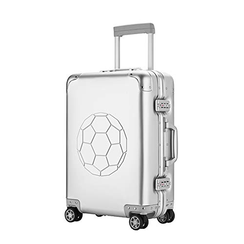 Fantastic Deal! Suitcase,Business Travel Trolley Case 20\ Suitcase Trolley Carrying Luggage Hard C...