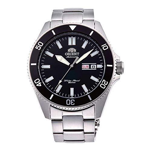 Orient Herren Analog Automatik Uhr mit Edelstahl Armband RA-AA0008B19B