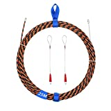 Fish Line Wire Puller Through Wall Wire Through Through Through Wire Through Wire Threader Fish Cable Lock with Easy Grip 25m