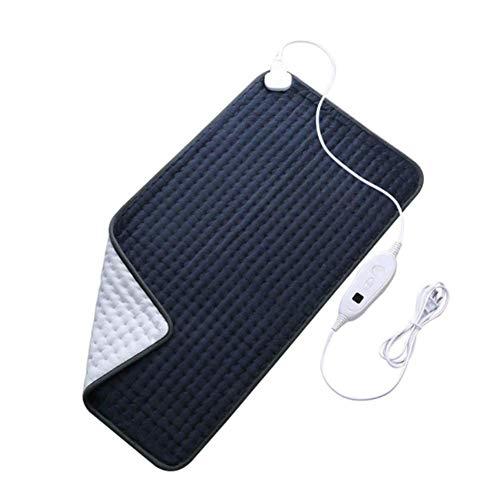 YUNFEILIU Elektrisches Heizkissen Zur Linderung Von Rückenschmerzen, Fastenheizung 6 Temperaturmodi Automatische Abschaltung Waschbare Therapie Gehördecke