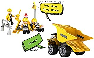 Cogo City Engineering Dump Truck - 6 Years & Above - Yellow,2724652036269