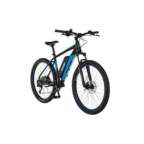 FISCHER E-Mountainbike MONTIS 2.0, E-Bike MTB, schwarz matt, 27,5 Zoll, RH 48 cm, Hinterradmotor 45 Nm, 48 V/557 Wh Akku