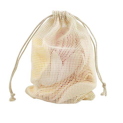 Morningtime Waschbare Abschminkpads 12 Stück Gesicht Wiederverwendbare Wattepads aus 100 Natürlich Bambusfaser 2 Schichten Nachhaltige Reinigungspads mit Wäschenetz