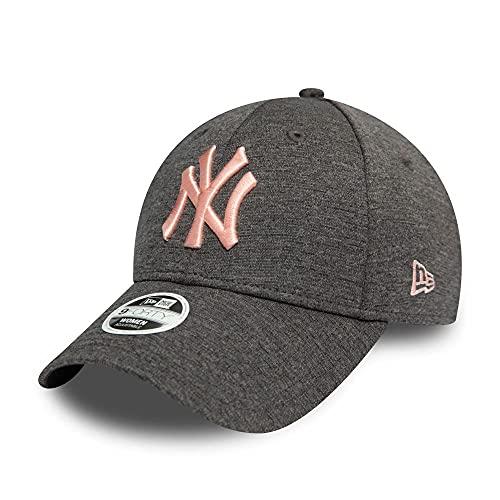 New Era New York Yankees MLB Cap 9forty Damen Verstellbar Grau Rosa - One-Size