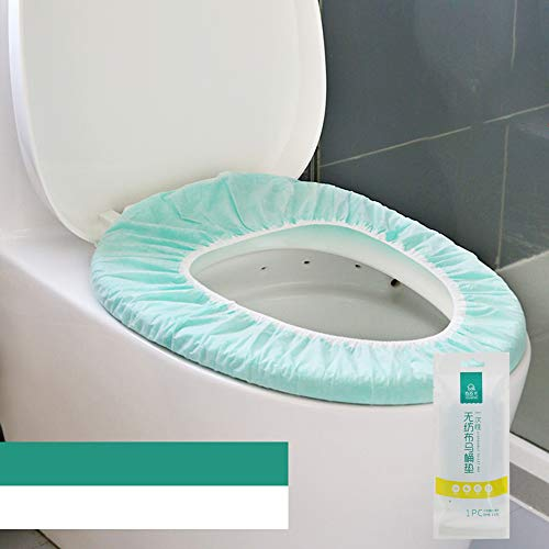 Guoc wasserdichte Disposable Toilet Cover WC Sitzschutz Sitzauflagen Toilettenbrillen Auflagen Brillenschutz Anti Bakterien für Hotel Outdoor Reisen Universal Toilettensitz