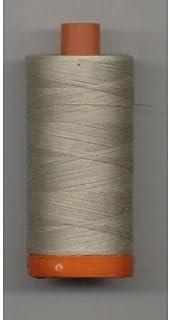 Aurifil 50Wt Cotton 1,422 Yard - Stone (Pack of 2)