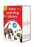 Early Learning Library - Box Set of 10 Books : Big Board Books Series (Large Font)