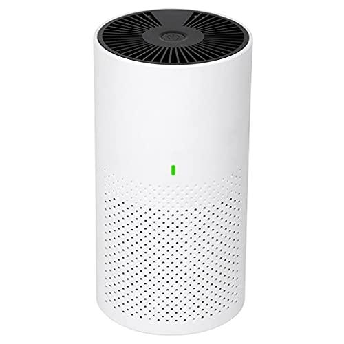 MERIGLARE Purificatore d'Aria per La Casa Dell'auto Filtro dell'Aria USB a Basso Rumore per Odori di Polvere per Capelli
