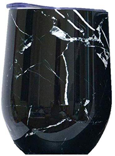 Pebble (Brew) von Happy Earth (350 ml, doppelwandiger Edelstahl, vakuumisolierter Reisebecher mit spritzwassergeschütztem Deckel, BPA-frei)